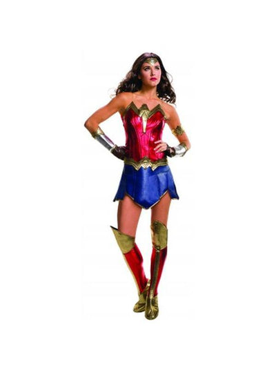 Wonder Woman Doj Secret Wishes Costume - Size S-Costumes - Women-Jokers Costume Hire and Sales Mega Store