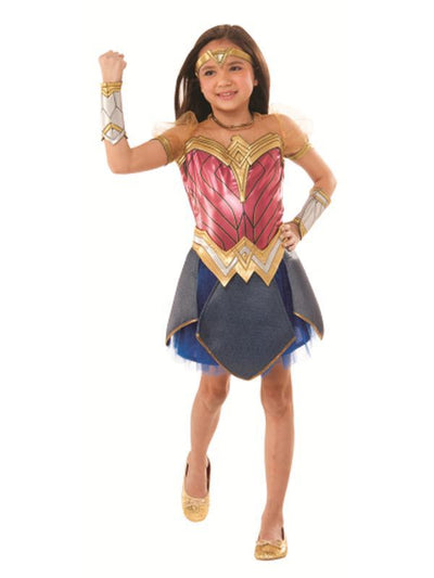 Wonder Woman Premium - Size 3-5-Costumes - Girls-Jokers Costume Hire and Sales Mega Store