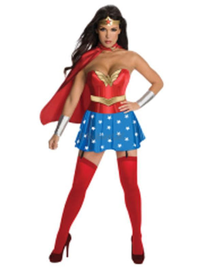 Wonder Woman Secret Wishes - Size S.-Costumes - Women-Jokers Costume Hire and Sales Mega Store