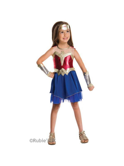 Wonder Woman - Size 9-10-Costumes - Girls-Jokers Costume Hire and Sales Mega Store