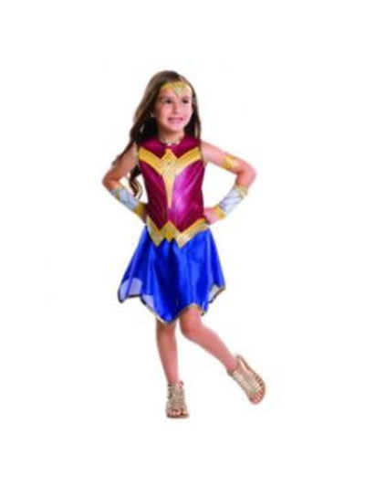 Wonder Woman - Size M-Costumes - Girls-Jokers Costume Hire and Sales Mega Store