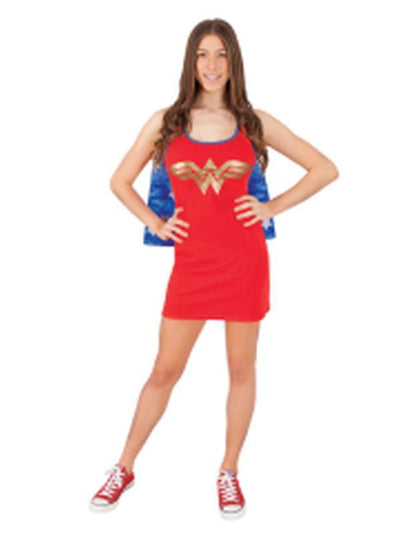 Wonder Woman Tank Dress - Size S-Costumes - Women-Jokers Costume Hire and Sales Mega Store