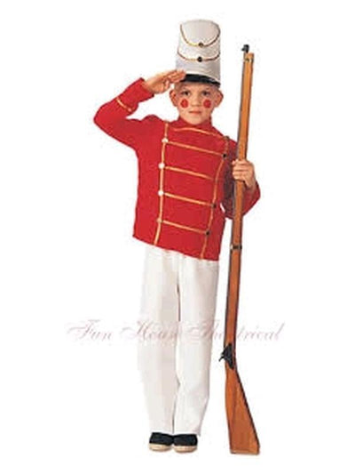 Wooden Soldier - Size M-Costumes - Boys-Jokers Costume Hire and Sales Mega Store