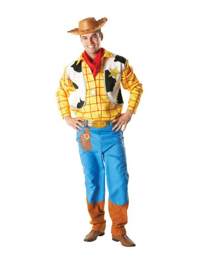 Woody Deluxe Adult Costume - Size Xl-Costumes - Mens-Jokers Costume Hire and Sales Mega Store
