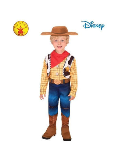 WOODY DELUXE TOY STORY 4 COSTUME, CHILD-Costumes - Boys-Jokers Costume Hire and Sales Mega Store