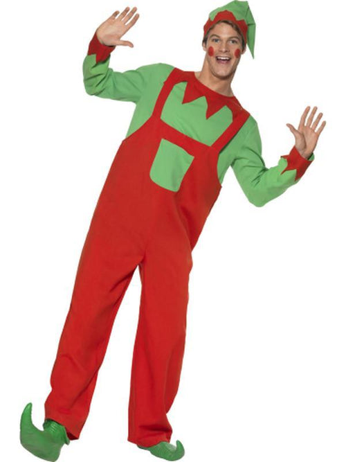 Workshop Elf Costume-Costumes - Mens-Jokers Costume Hire and Sales Mega Store