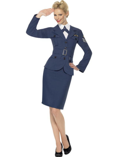 WW2 Air Force Female Captain-Costumes - Women-Jokers Costume Hire and Sales Mega Store