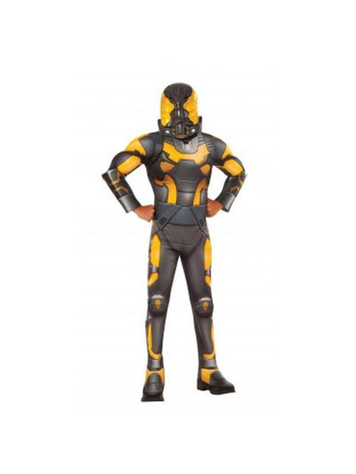 Yellowjacket Deluxe Costume - Size S-Costumes - Mens-Jokers Costume Hire and Sales Mega Store