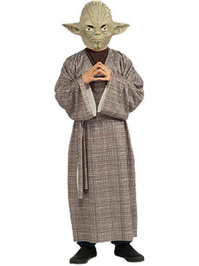 Yoda Deluxe Child - Size M (Was 18994M)-Costumes - Boys-Jokers Costume Hire and Sales Mega Store