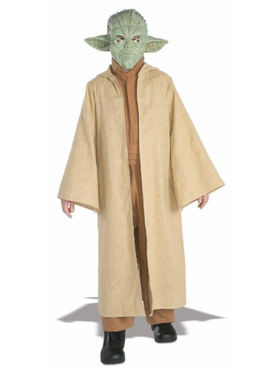 Yoda Deluxe Child - Size S-Costumes - Boys-Jokers Costume Hire and Sales Mega Store