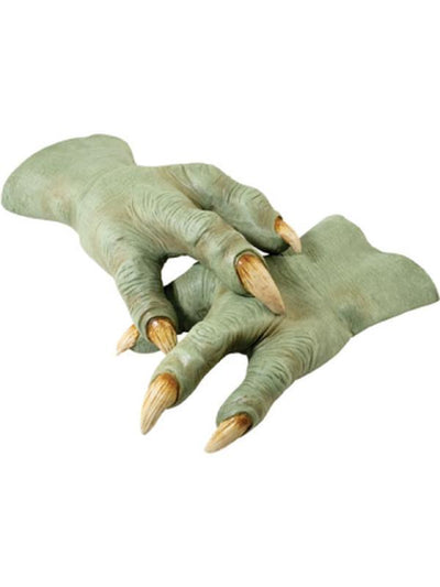 Yoda Hands, Adult-Armwear-Jokers Costume Hire and Sales Mega Store