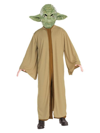 Yoda Suit Adult - Size Xl-Costumes - Mens-Jokers Costume Hire and Sales Mega Store