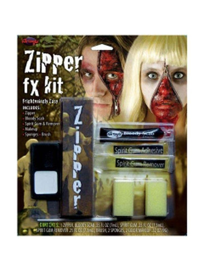 Zipper FX Kit-Halloween Makeup & Special FX-Jokers Costume Hire and Sales Mega Store