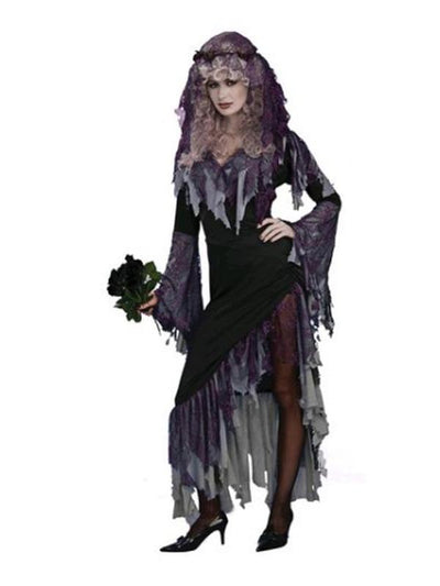 Zombie Bride Costume - Size Std-Costumes - Women-Jokers Costume Hire and Sales Mega Store