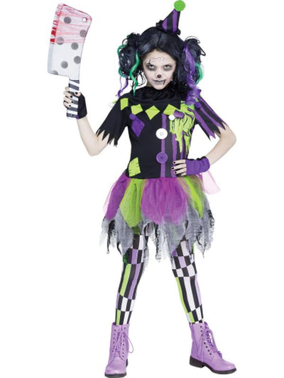 Zombie Clown Child Costume-Costumes - Girls-Jokers Costume Hire and Sales Mega Store