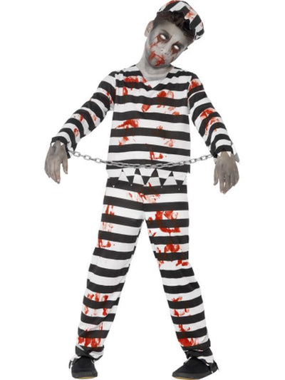 Zombie Convict Costume-Costumes - Boys-Jokers Costume Hire and Sales Mega Store