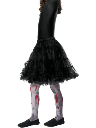 Zombie Dirt Tights, Child-Leg Wear-Jokers Costume Hire and Sales Mega Store