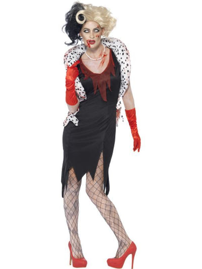 Zombie Evil Madame Costume-Costumes - Women-Jokers Costume Hire and Sales Mega Store