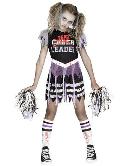 Zombie Fearleader Child - Large-Costumes - Girls-Jokers Costume Hire and Sales Mega Store