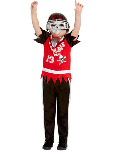 Zombie Football Player Costume-Costumes - Boys-Jokers Costume Hire and Sales Mega Store