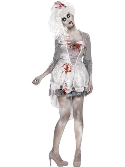 Zombie Georgian Costume-Costumes - Women-Jokers Costume Hire and Sales Mega Store