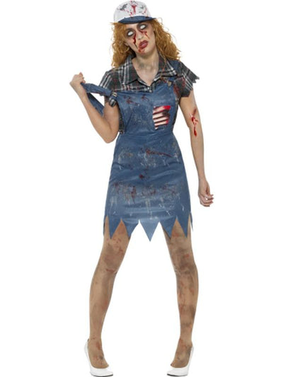 Zombie Hillbilly Costume-Costumes - Women-Jokers Costume Hire and Sales Mega Store