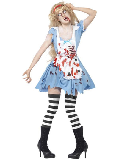 Zombie Malice Costume-Costumes - Women-Jokers Costume Hire and Sales Mega Store