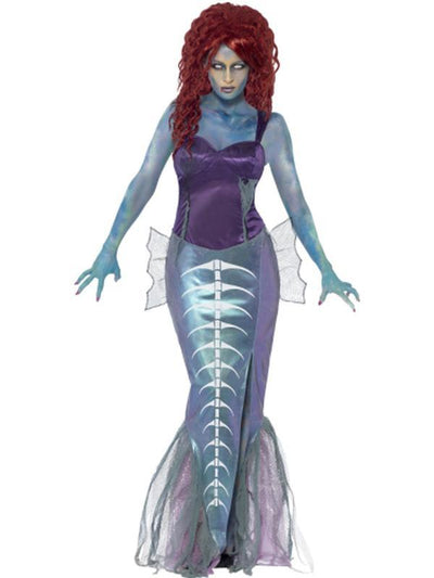 Zombie Mermaid Costume-Costumes - Women-Jokers Costume Hire and Sales Mega Store