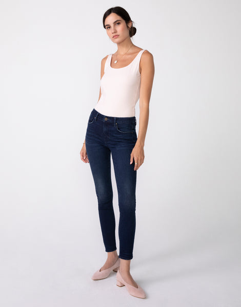 KORA Mid Rise Skinny in Rapture