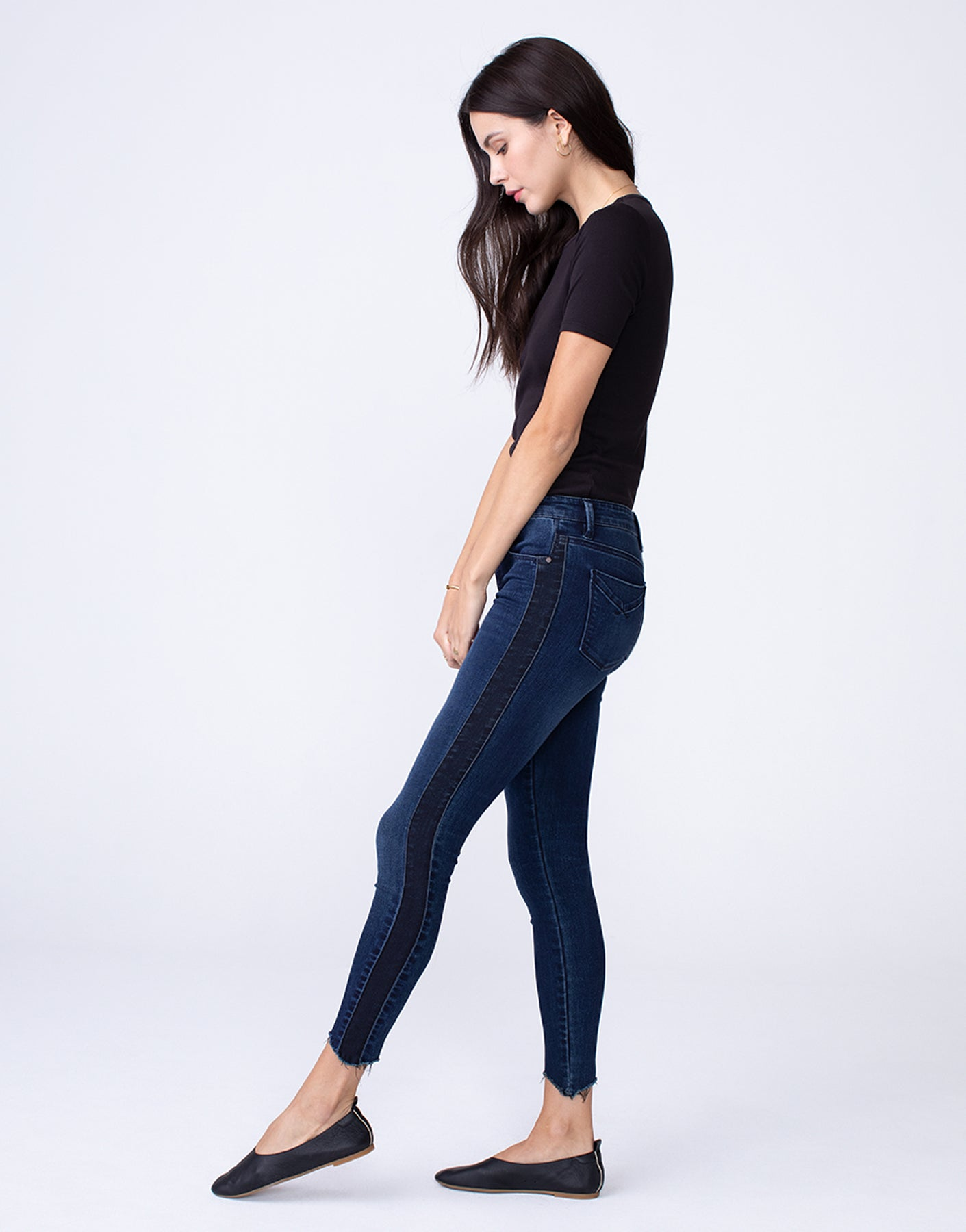 KORA Mid Rise Skinny in Darkside