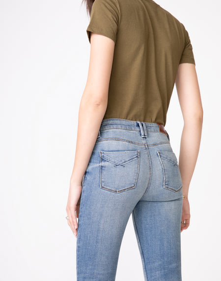 OLIVIA High Rise Skinny in Antique