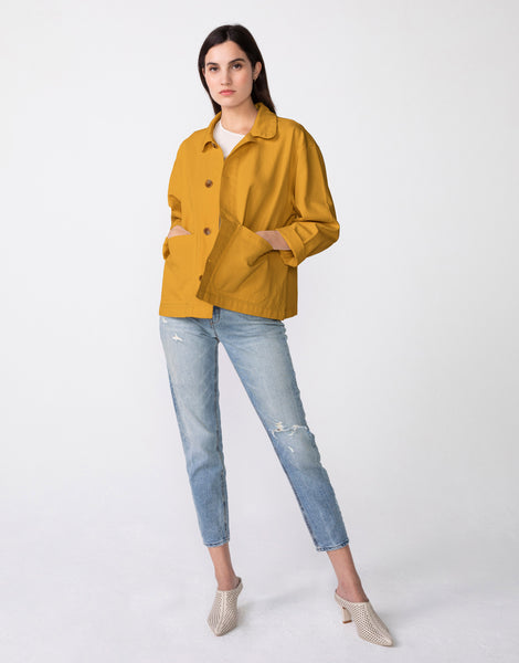 BILLIE Chore Jacket in Scotch