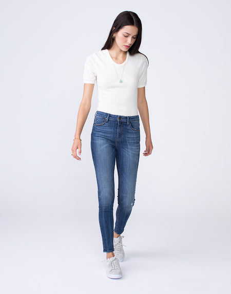 OLIVIA High Rise Skinny in Soulmate