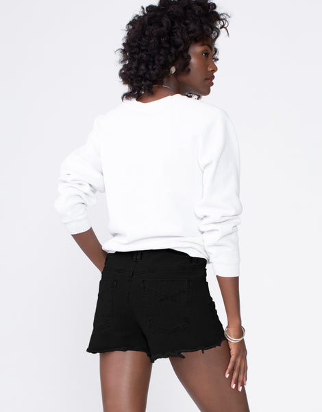 STELLA High Waist Short in Raven