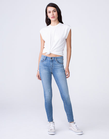KORA Mid Rise Skinny in Winsome