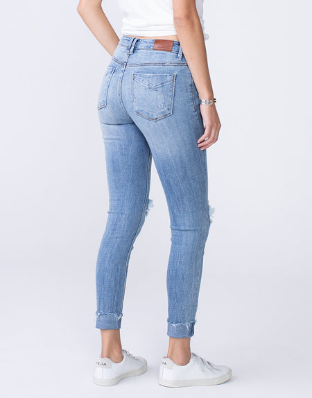 OLIVIA High Rise Skinny in First Love