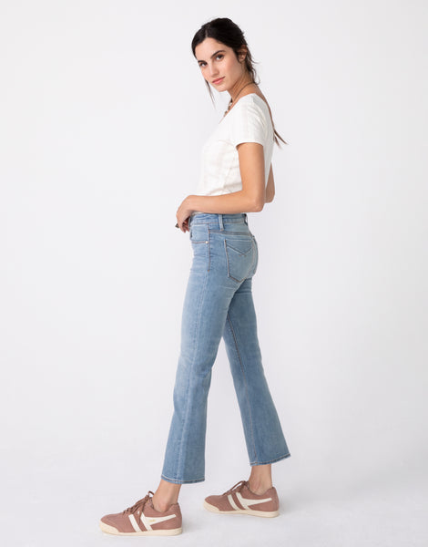 MARGAUX Cropped Demi Flare in Day Tripper
