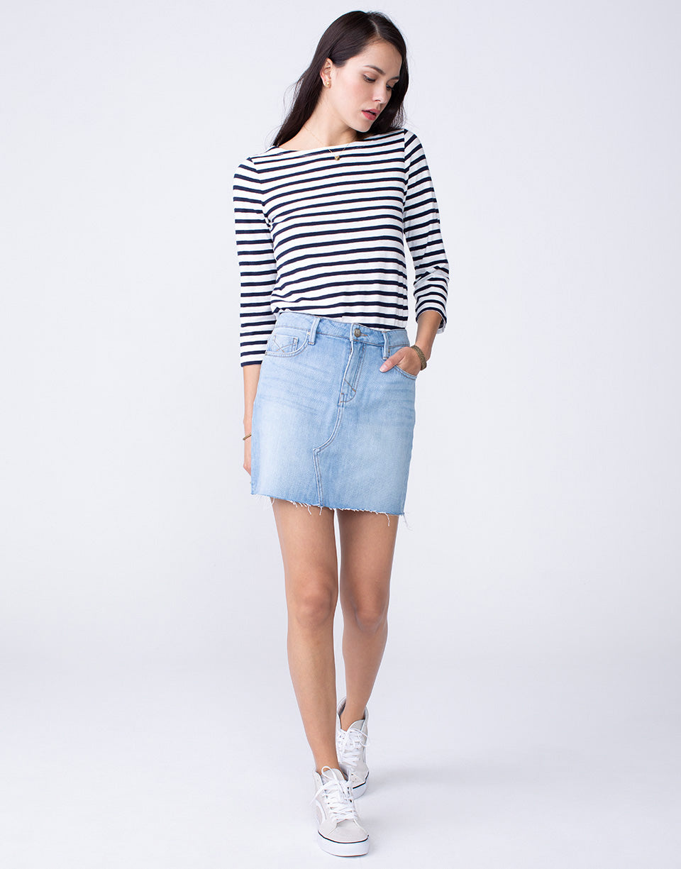 NICO 5PKT Mini Skirt in Thrills