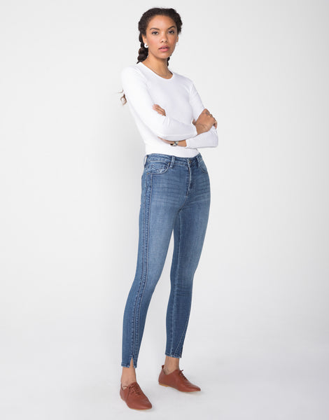 OLIVIA High Rise Skinny in Vista