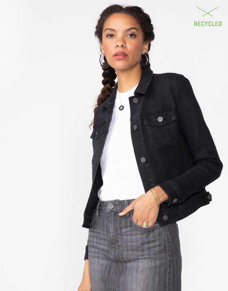 ABBIE Fitted Trucker Jacket in Nova