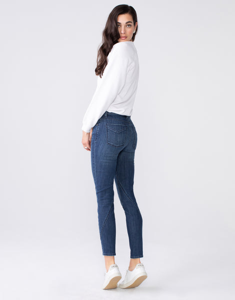 KORA Mid Rise Skinny in Twist
