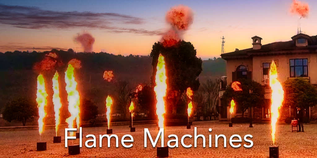 Spark Fabrica Flame Machines
