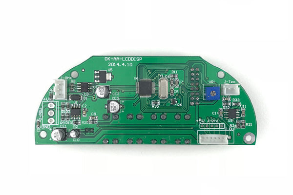 Event Lighting Spare Parts - Main PCB with LCD Display