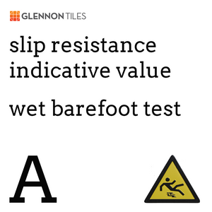 99: Slip Resistant Wet Barefoot A Or Better (Indicative Value)