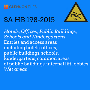 HB198-2015; Hotels, Offices, Public Buildngs, Schools and Kindergartens: Entries And Access Areas Including Common Areas Of Public Buildings, Internal Lift Lobbies: Wet Areas