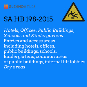 HB198-2015: Hotels, Offices, Public Buildngs, Schools and Kindergartens: Entries And Access Areas Including Common Areas Of Public Buildings And Internal Lift Lobbies: Dry Areas