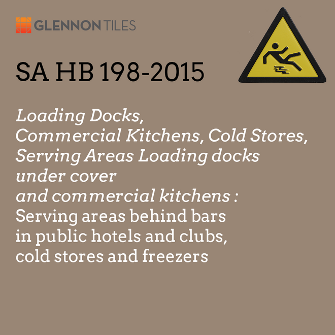 HB198-2015: Loading Docks, Commercial Kitchens, Cold Stores, Serving Areas, Loading Docks Under Cover: Serving Areas Behind Bars In Public Hotels And Clubs, Cold Stores And Freezers