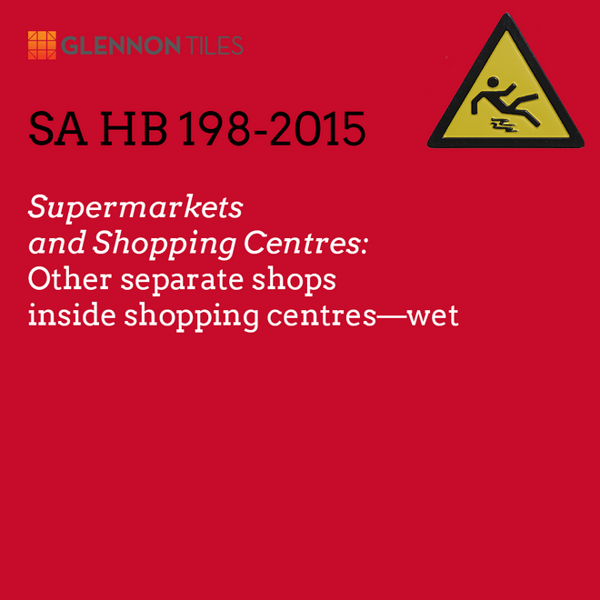 HB198-2015: Supermarkets and Shopping Centres: Other Separate Shops Inside Shopping Centres - Wet