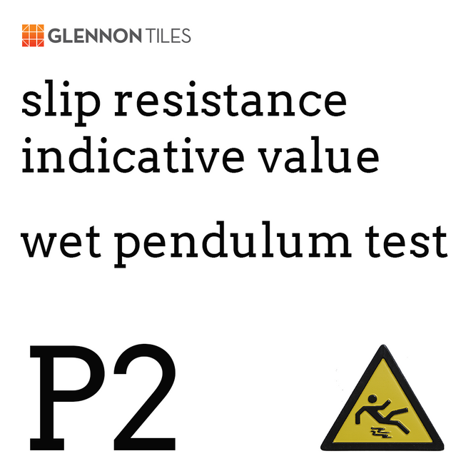 99: Slip Resistant Wet Pendulum Test P2 Or Better (Indicative Value)