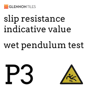 99: Slip Resistant Wet Pendulum Test P3 Or Better (Indicative Value)